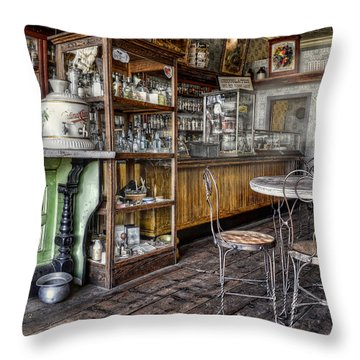 The Counter Throw Pillow by Ken Smith
