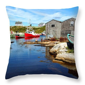 The Cove 2 Throw Pillow by Ron Haist