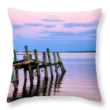 The Cove Dock Throw Pillow