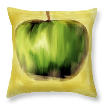 The Creative Apple Throw Pillow