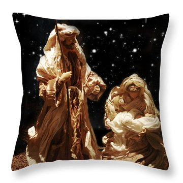 The Crib Throw Pillow by Gina Dsgn