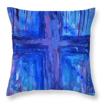 The Crossroads #2 Throw Pillow