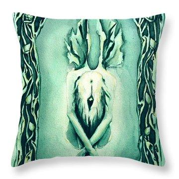 The Crysalis Throw Pillow by Cari Buziak
