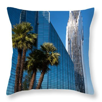 The Crystal Cathedral  Throw Pillow by Duncan Selby