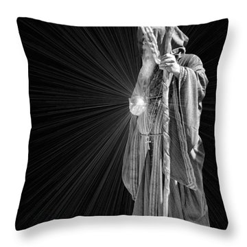 The Crystal Throw Pillow