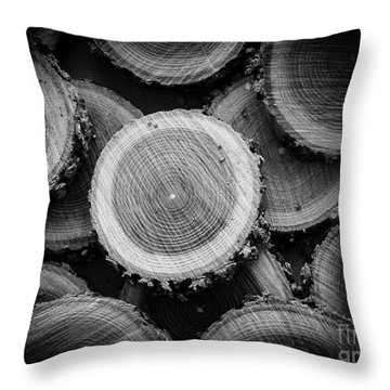 The Cuttings Throw Pillow by Edward Fielding