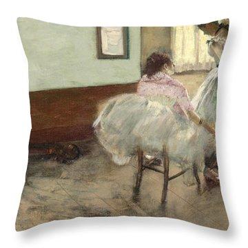 Edgar Degas Throw Pillows