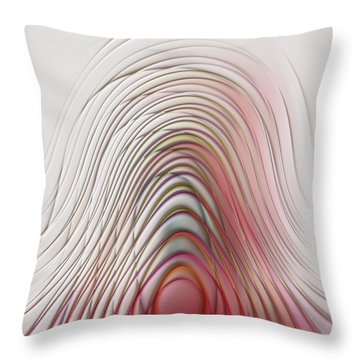 The Dance Throw Pillow by Liane Wright