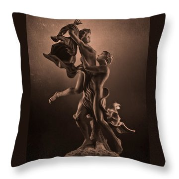 The Dance Of Love Throw Pillow