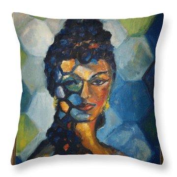 The Dancer Throw Pillow by Jan Statman