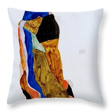 The Dancer Moa Throw Pillow by Pg Reproductions
