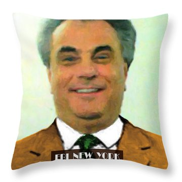 The Dapper Don 20130812text Throw Pillow