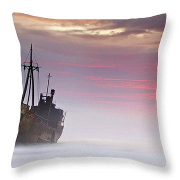 Shipwreck Throw Pillows