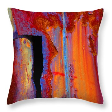 The Darkside Throw Pillow