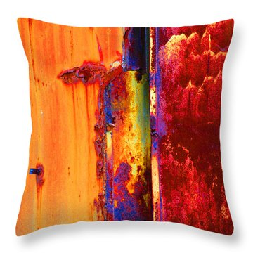 The Darkside II Throw Pillow