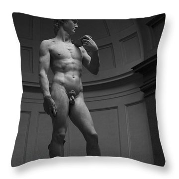 The David Throw Pillow