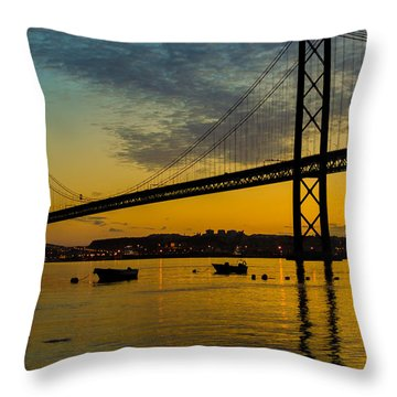 The Dawn Of Day I Throw Pillow