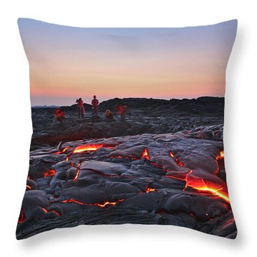 The Dawn Of Time Throw Pillow