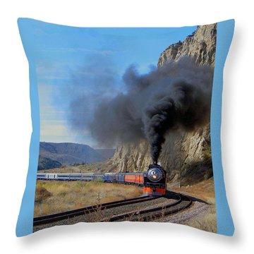 The Daylight 4449 Montana Driveby Throw Pillow