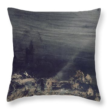 The Dead City Throw Pillow by Victor Hugo