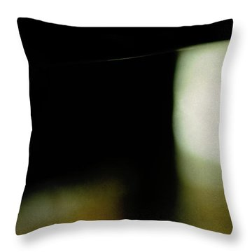 The Deco Table Throw Pillow by Rebecca Sherman