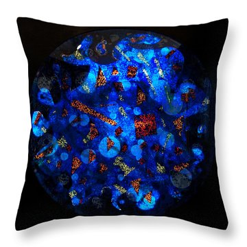 The Deep Three Throw Pillow