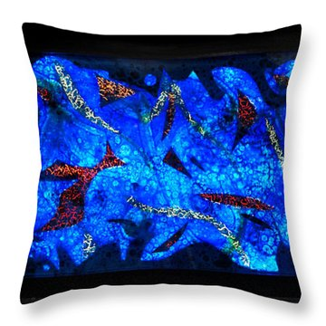 The Deep Two Throw Pillow