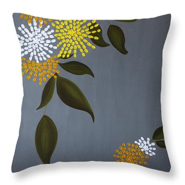 The Delicacy Of Life Throw Pillow