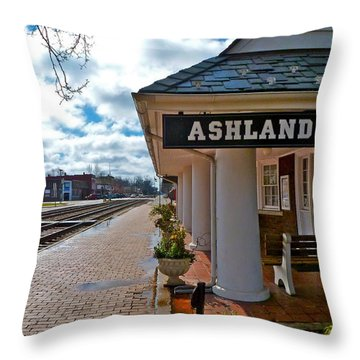 The Depot Throw Pillow