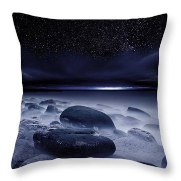 The Depths Of Forever Throw Pillow by Jorge Maia