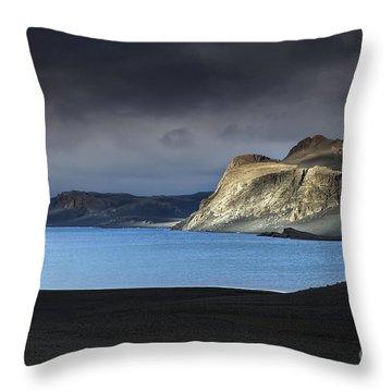 The Desert Throw Pillow by Gunnar Orn Arnason