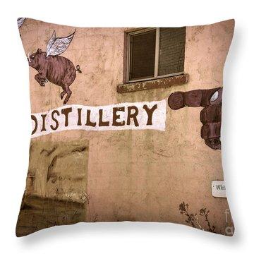 The Distillery Throw Pillow