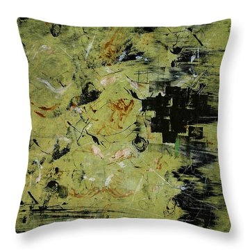 The Docks At Istanbul Throw Pillow by Lesley Fletcher