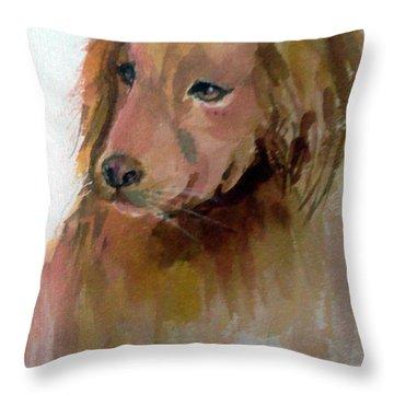 The Doggie Throw Pillow