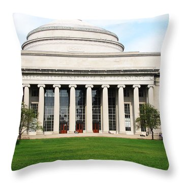 The Dome At Mit Throw Pillow