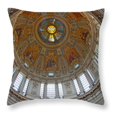 Throw Pillow featuring the photograph The Dome Of Berlin by Sabine Edrissi
