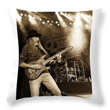 The Doobie Brothers Throw Pillow