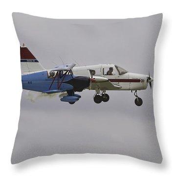 The Double-take Throw Pillow