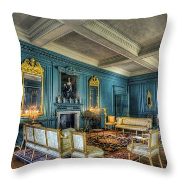 The Drawing Room Throw Pillow by Ian Mitchell