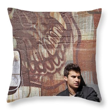 The Dream Killer Throw Pillow by Shoal Hollingsworth