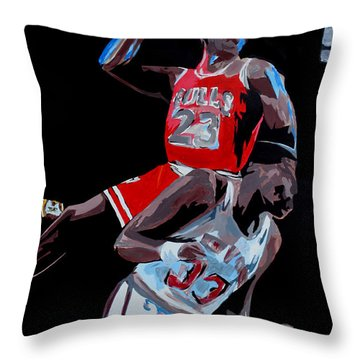 The Dunk Throw Pillow