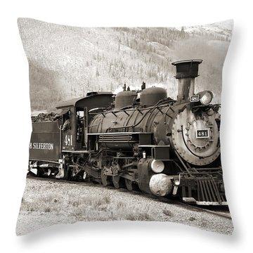 The Durango And Silverton Throw Pillow