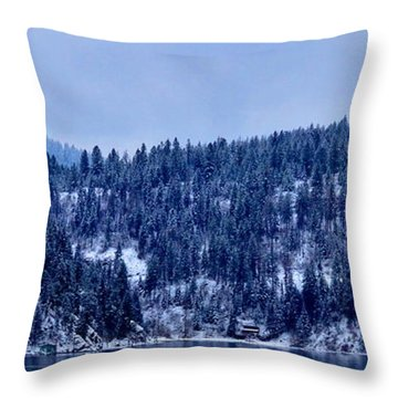 The Dusting Throw Pillow