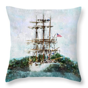 The Eagle Has Landed I Throw Pillow