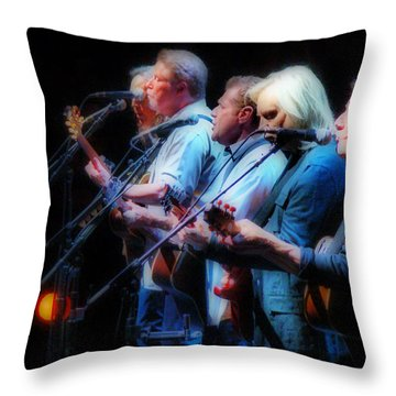 The Eagles Inline Throw Pillow by Alice Gipson