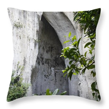 The Ear Of Dionysius Throw Pillow