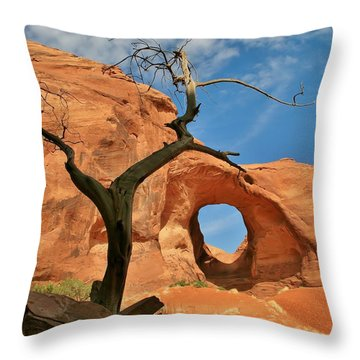 The Ear Of The Wind 2 Throw Pillow by Mo Barton