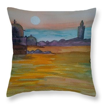 The East Throw Pillow