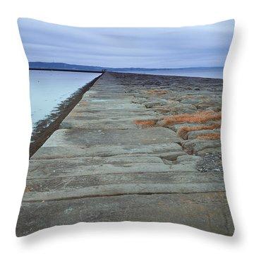 The Eastern Causeway Throw Pillow