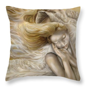The Ecstasy Of Angels Throw Pillow